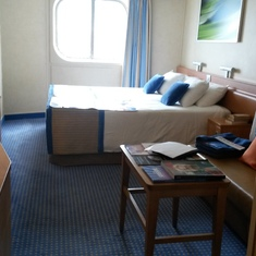 Oceanview cabin 2204 on Carnival Sunshine