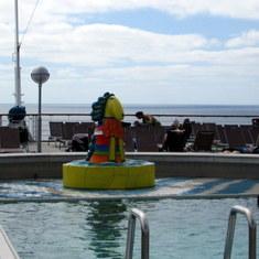 Westerdam Aft Pool