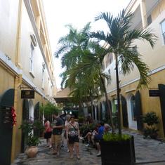 Mall in port