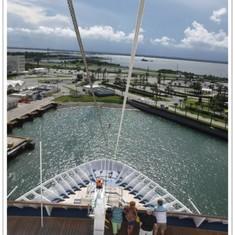 Port Canaveral sailaway