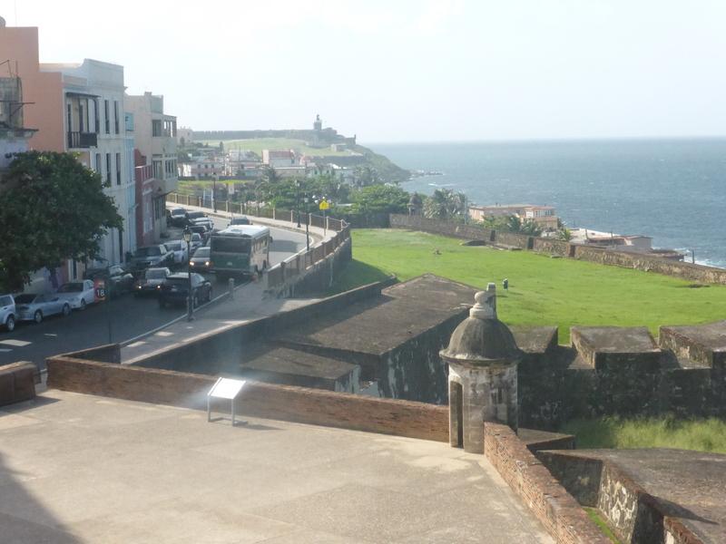 San Juan, Puerto Rico - View From El Moro