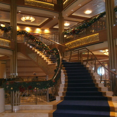 Port Canaveral, Florida - The staircase