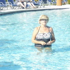 Me in the Grand Turk Pool