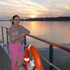 Danube sunsets