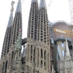 Barcelona, Spain - La Segraudo de Familia