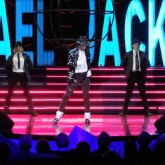 MJ show last night