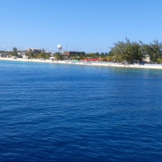 A view from the pier at Grand Turk. Beautiful beaches and gorgeous water!!!