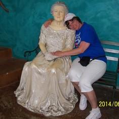 Nassau, Bahamas - I found somebody's grandma :)