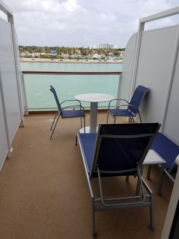 Balcony Cabin 13208 On Norwegian Escape Category Bs