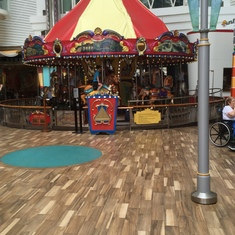 Boardwalk carousel