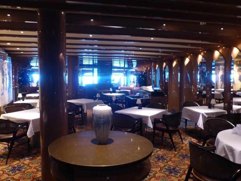 Pinnacle Grill steakhouse - Koningsdam