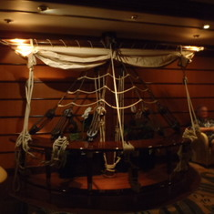 Schooner Bar decor