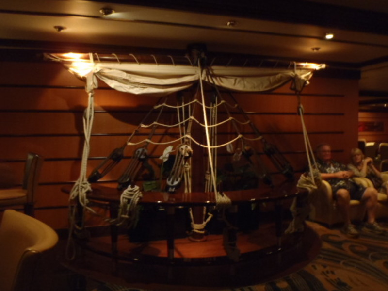 Schooner Bar decor - Empress of the Seas