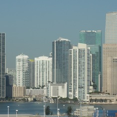 Miami from the ship