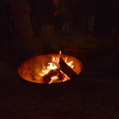 Fire Pit in Sharding, Austria