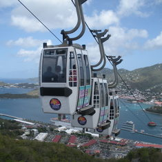 St. Thomas sky ride