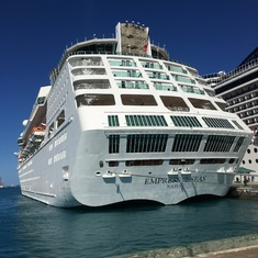 EMPRESS OF THE SEAS IN NASSAU, ,BAHAMAS!