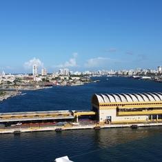 Sailing into San Juan Harbor