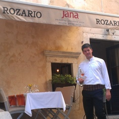 Rozario restaurant, Dubrovnik, Croatia