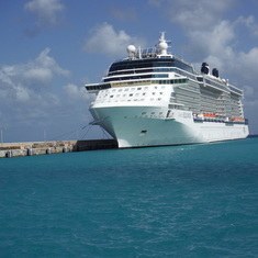 Docked in Barbados