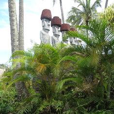 Easter Island exhibit at Polynesian Cultural Center