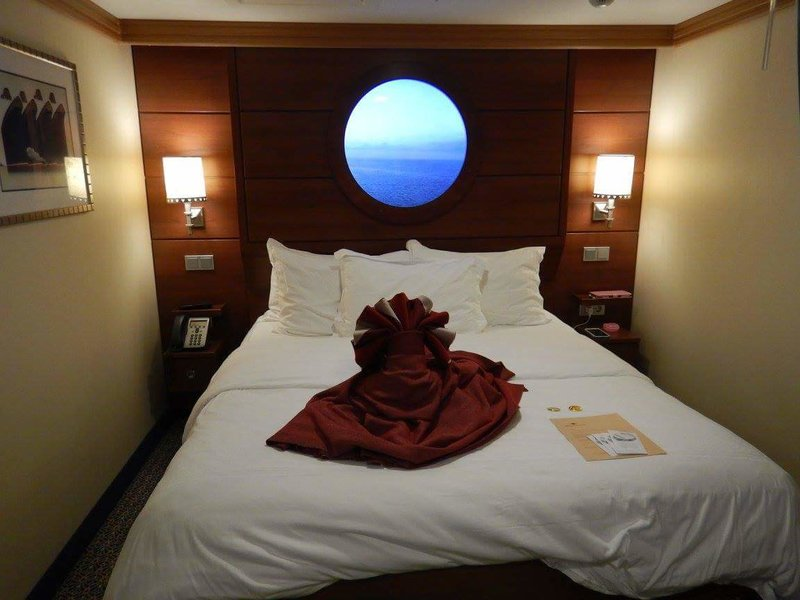Standard Inside Stateroom, Cabin Category BZ, Disney Dream