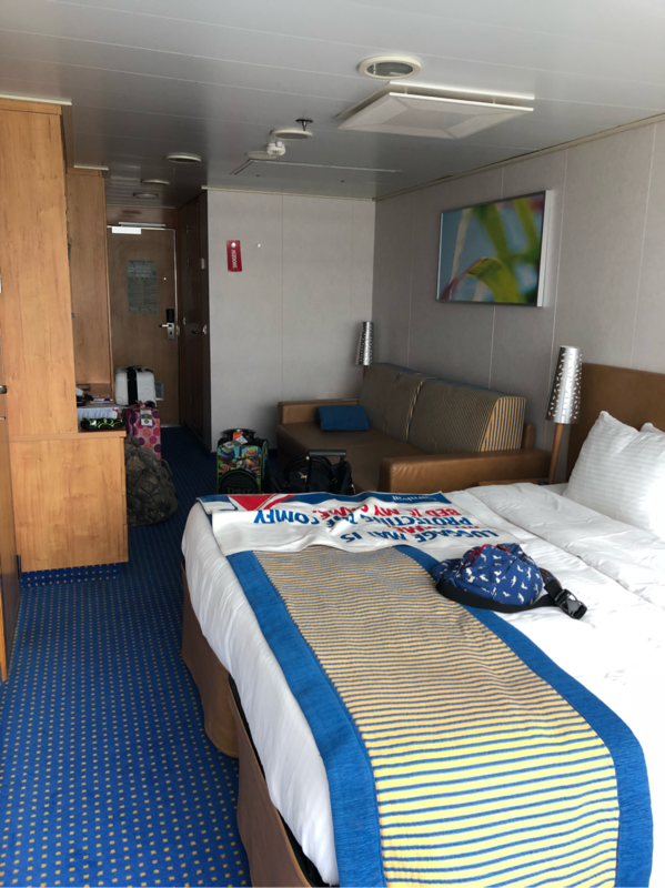 Scenic Oceanview Stateroom, Cabin Category 6J, Carnival Glory