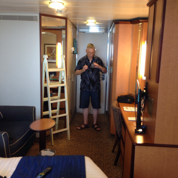 Deluxe Oceanview Stateroom with Balcony on Serenade of the Seas