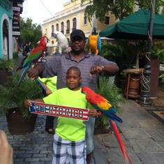 San Juan, Puerto Rico - The bird men!