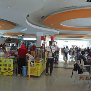 Food court in surabaya north quay cruise terminal