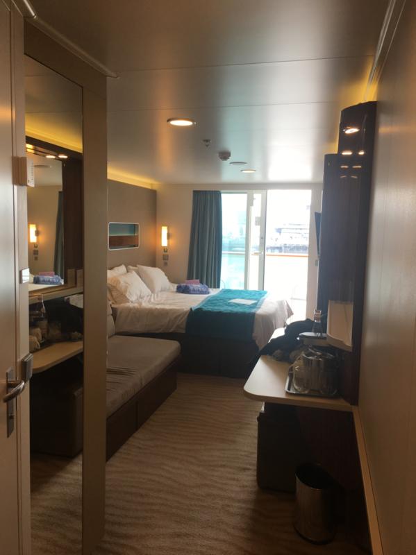Mid Ship Balcony Stateroom Cabin Category Bs Norwegian