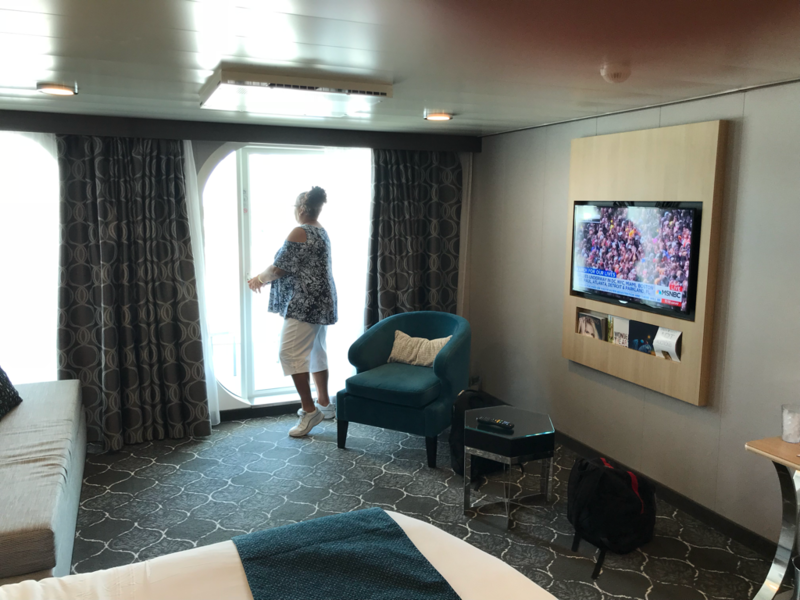 Junior Suite With Balcony Cabin Category Yu Harmony Of The Seas