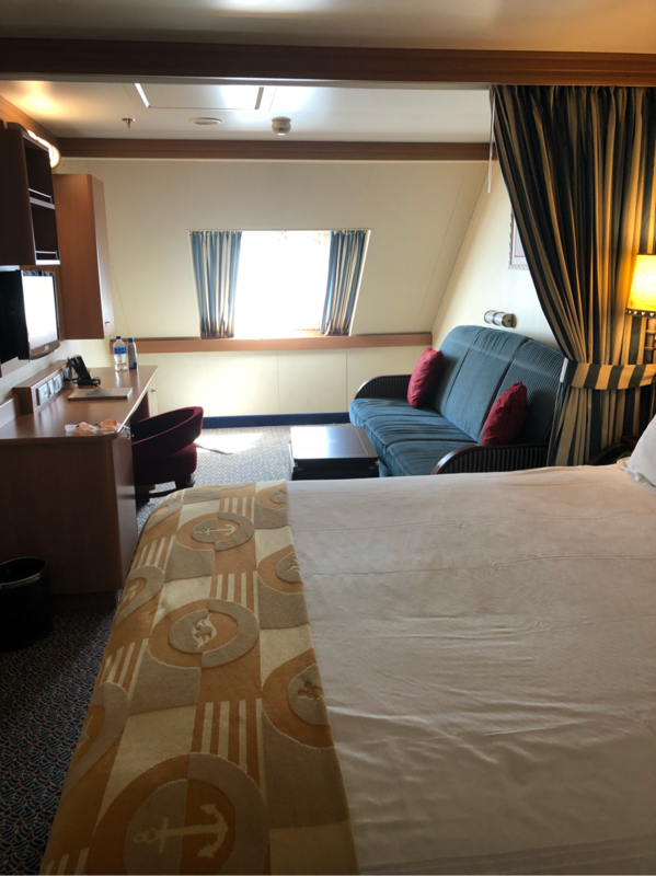 Deluxe Oceanview Stateroom Cabin Category 9d Disney Dream