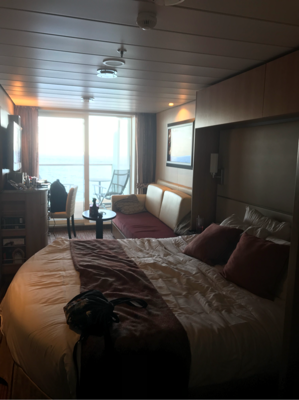 Balcony Cabin 7260 On Celebrity Equinox Category 1a