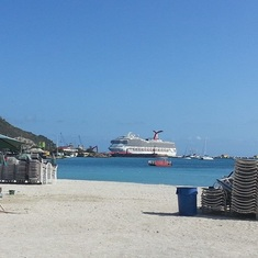 Ship in St Martin