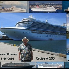 San Diego, California - Cruise #100 for me