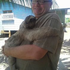 Monkey Farm Sloth-Roatan