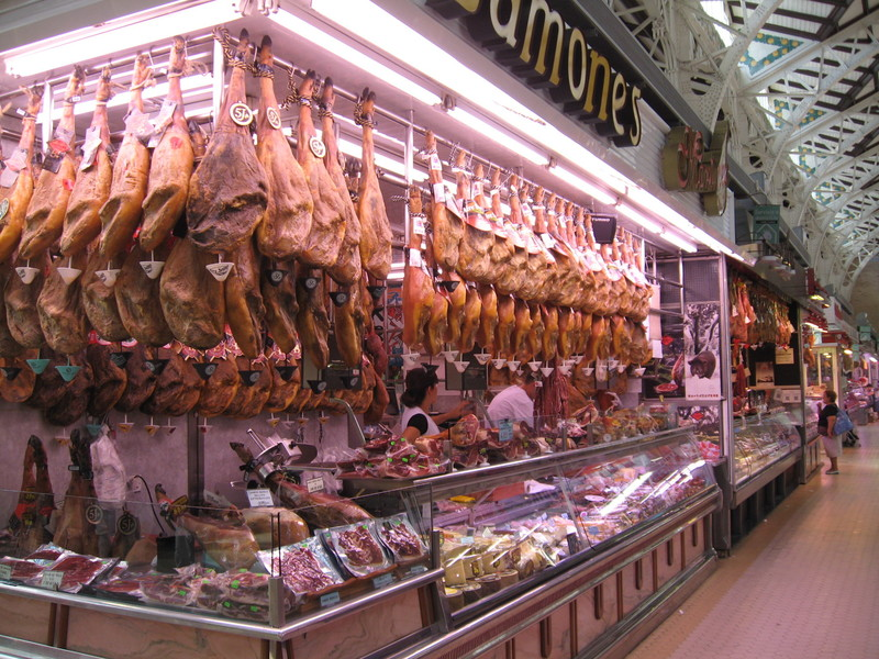 Valencia, Spain - Bounty of Spain--They eat good here--Valenica Spain