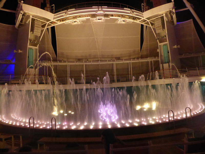 Dancing Waters Show - Allure of the Seas