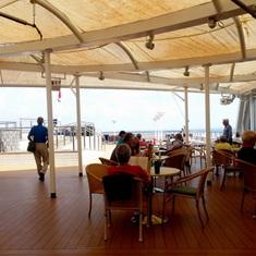 The retreat Aft on Lido Deck