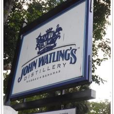 John Watling's Distillery.  Nassau.