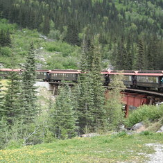 Skagway, Alaska - Train excursion