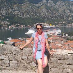 Montenegro - half way up the mountain