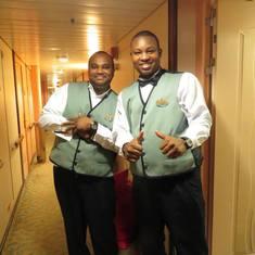 Our Cabin Staff -Terrance & Daniel
