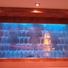 Water display at Magnums