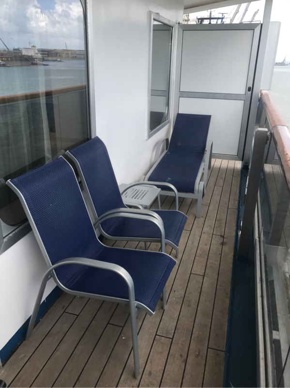 Balcony Cabin 6450 On Carnival Valor Category 8a
