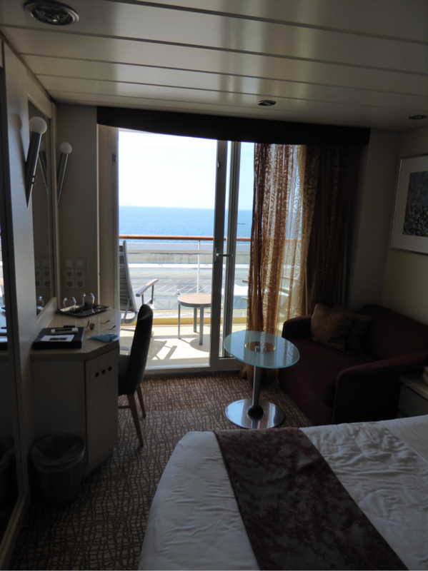 Balcony Cabin 7074 On Celebrity Constellation Category 2c