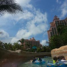 Nassau, Bahamas - Atlantis lazy river