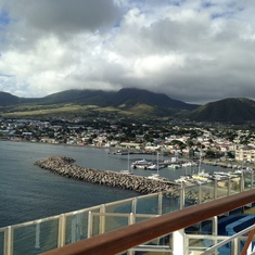 beautiful view- St. Marteen