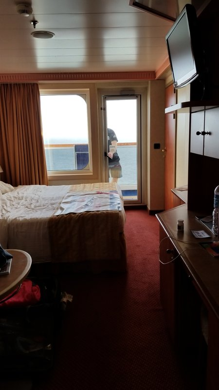 Balcony Cabin 7419 On Carnival Liberty Category 8b